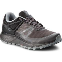 Buty SALOMON - Trailster Gtx GORE-TEX 404882 27 W0 Magnet/Black/Quarry. Szare buty do biegania męskie Salomon, z gore-texu, gore-tex. W wyprzedaży za 439,00 zł.