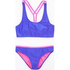 Stroje dwuczęściowe dziewczęce: Dwuczęściowy strój kąpielowy – Niebieski