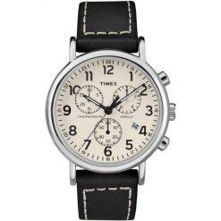 Zegarek Timex Męski TW2R42800 Weekender Chrono Indiglo czarny. Czarne zegarki męskie Timex. Za 348,99 zł.