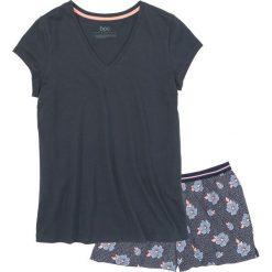 Piżamy damskie: Piżama z krótkimi spodenkami bonprix niebieski