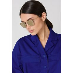 Le Specs Okulary przeciwsłoneczne Neptune - Gold. Brązowe okulary przeciwsłoneczne damskie marki Le Specs. W wyprzedaży za 121,58 zł.