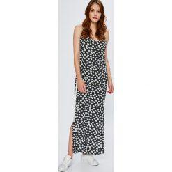 Noisy May - Sukienka. Niebieskie długie sukienki marki bonprix, z nadrukiem, na ramiączkach. W wyprzedaży za 99,90 zł.