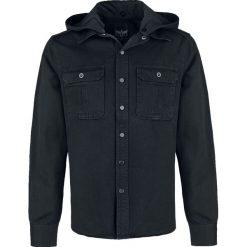 Black Premium by EMP Rook Koszula czarny. Czerwone koszule męskie na spinki marki Cropp, l, z kapturem. Za 182,99 zł.