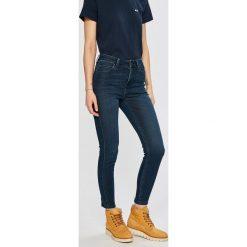 Lee - Jeansy. Niebieskie jeansy damskie rurki marki Sinsay, z podwyższonym stanem. Za 329,90 zł.