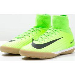 Nike Performance MERCURIALX PROXIMO II DF IC Halówki electric green/black/ghost green/light brown/white. Zielone buty skate męskie Nike Performance, z gumy, do piłki nożnej. W wyprzedaży za 343,85 zł.