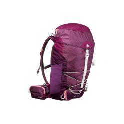 Plecak turystyczny MH100 30 l. Szare plecaki męskie marki QUECHUA, z elastanu. Za 129,99 zł.