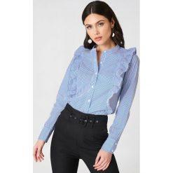 Paski damskie: Rut&Circle Koszula w paski Malina – Blue,Multicolor