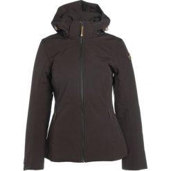 Icepeak TUULA Kurtka Softshell dark brown. Brązowe kurtki sportowe damskie Icepeak, z elastanu. W wyprzedaży za 251,40 zł.