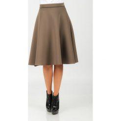 Odzież damska: Spódnica midi Isabel Queen w kolorze brązowym