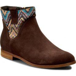 Botki SERGIO BARDI - Aurelia FW127285717BM 605. Brązowe buty zimowe damskie Sergio Bardi, z materiału, eleganckie, na obcasie. W wyprzedaży za 209,00 zł.