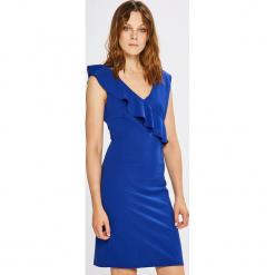 Morgan - Sukienka. Niebieskie sukienki mini marki bonprix, z nadrukiem, na ramiączkach. W wyprzedaży za 199,90 zł.