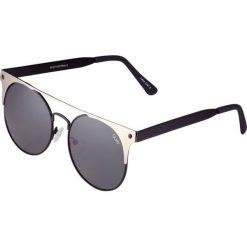 Okulary przeciwsłoneczne damskie: Quay THE IN CROWD Okulary przeciwsłoneczne black silver/smoke lens