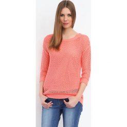 Swetry klasyczne damskie: SWETER KRÓTKI RĘKAW DAMSKI