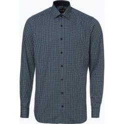 Olymp Level Five - Koszula męska, zielony. Niebieskie koszule męskie marki OLYMP Level Five, m, paisley, ze stójką. Za 249,95 zł.