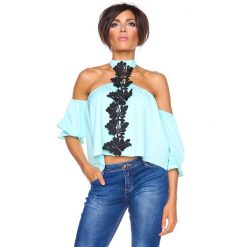 """T-shirty damskie: Koszulka """"Honolulu"""" w kolorze turkusowym"""