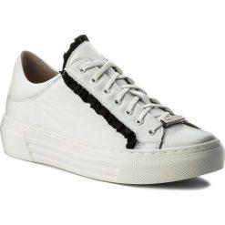 Sneakersy EVA MINGE - Manacor 3R 18SM1372472ES 102. Białe sneakersy damskie Eva Minge, z materiału. W wyprzedaży za 239,00 zł.