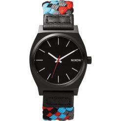 Zegarki damskie: Zegarek damski Black Red Woven Nixon Time Teller A0451939
