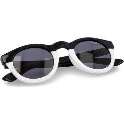 Okulary przeciwsłoneczne VANS - Lolligagger Sun VN0A31TAP64 Solid Black/White. Białe okulary przeciwsłoneczne damskie lenonki marki Vans. Za 59,00 zł.