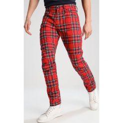 Spodnie męskie: GStar PHARRELL WILLIAMS GSTAR ELWOOD X25 3D Spodnie materiałowe milk/pompeian red check