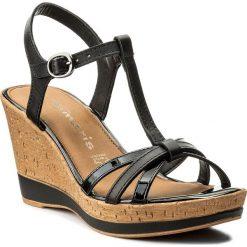 Rzymianki damskie: Sandały TAMARIS – 1-28347-20 Black Uni 007
