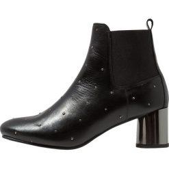 Élysèss Ankle boot nero. Czarne botki damskie na zamek Élysèss, z materiału. Za 589,00 zł.