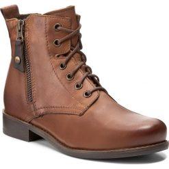 Botki LASOCKI - 70174-11 Brązowy. Brązowe buty zimowe damskie Lasocki, ze skóry, na obcasie. Za 249,99 zł.