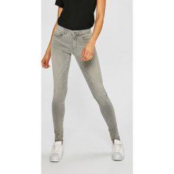 Only - Jeansy. Czarne jeansy damskie marki ONLY, l, z materiału, z kapturem. W wyprzedaży za 119,90 zł.
