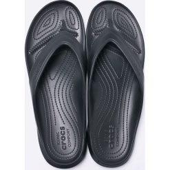 Crocs - Japonki. Czarne japonki męskie marki Crocs, z materiału. W wyprzedaży za 69,90 zł.
