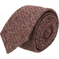 Krawat platinum brąz classic 206. Brązowe krawaty męskie Recman, z aplikacjami, z tkaniny, biznesowe. Za 49,00 zł.