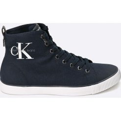 Calvin Klein Jeans - Trampki. Niebieskie trampki męskie marki Calvin Klein Jeans. Za 379,90 zł.