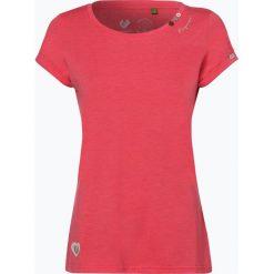 Ragwear - T-shirt damski – Florah, różowy. Czerwone t-shirty damskie marki Ragwear, xs. Za 79,95 zł.