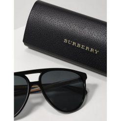 Burberry Okulary przeciwsłoneczne black/grey. Czarne okulary przeciwsłoneczne damskie marki Burberry. Za 719,00 zł.