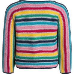 Frugi BABY CEIRA CARDIGAN Kardigan multicolor. Szare swetry dziewczęce Frugi, z bawełny. Za 179,00 zł.
