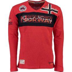 """T-shirty męskie z nadrukiem: Koszulka """"Jerard"""" w kolorze czerwonym"""