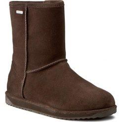 Buty EMU AUSTRALIA - Paterson Lo W10771 Chocolate 2016. Szare buty zimowe damskie marki EMU Australia, z gumy. W wyprzedaży za 459,00 zł.