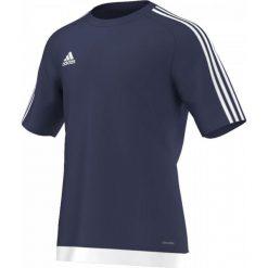 T-shirty męskie: Adidas Koszulka piłkarska męska Estro 15 granatowo-biała r. XXL (S16150)