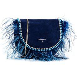 Torebka PATRIZIA PEPE - 2V7387/A2UP-C475  Dress Blue. Czarne listonoszki damskie marki Patrizia Pepe, ze skóry. W wyprzedaży za 679,00 zł.