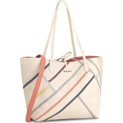 Torebka DESIGUAL - 18SAXP37 1000. Brązowe torebki klasyczne damskie marki Desigual, ze skóry ekologicznej. W wyprzedaży za 229,00 zł.