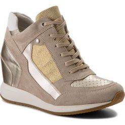 Sneakersy damskie: Sneakersy GEOX – D Nydame A D540QA 022AS CH62L Lt Taupe/Lt Gold