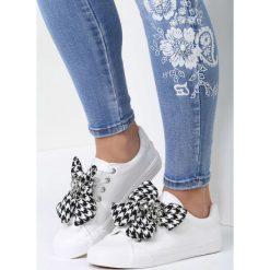 Buty sportowe damskie: Białe Buty Sportowe Young Lady