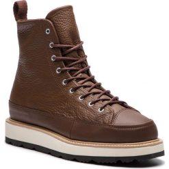 Kozaki CONVERSE - Ct Crafted Boot Hi 162354C Chocolate/Light Fawn/Black. Brązowe botki męskie Converse, z materiału. W wyprzedaży za 419,00 zł.