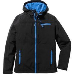 Kurtka softshell Regular Fit bonprix czarny. Białe kurtki męskie marki KIPSTA, z elastanu. Za 169,99 zł.