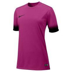 Nike Koszulka damska Laser JSY różowa r. M (19464). Czarne bluzki damskie marki Nike, xs, z bawełny. Za 109,00 zł.