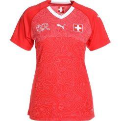 Puma SCHWEIZ HOME Tshirt z nadrukiem red/white. Czerwone t-shirty damskie marki Puma, xl, z materiału. Za 299,00 zł.