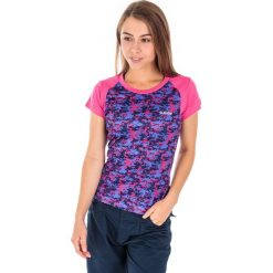 T-shirty damskie: Hi-tec T-shirt damski Lady Abiha BEETROOT PURPLE PATTERN r. S