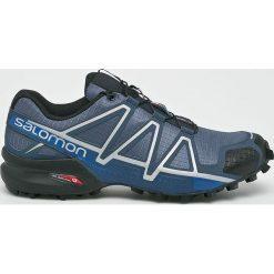 Salomon - Buty Speedcross 4. Szare buty sportowe męskie Salomon, z materiału, na sznurówki, do biegania. Za 549,90 zł.