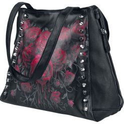 Spiral Blood Rose Torebka - Handbag czarny. Czarne torebki klasyczne damskie Spiral, zdobione. Za 164,90 zł.