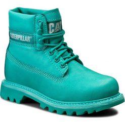 Trapery CATERPILLAR - Colorado P308861 Teal. Zielone buty zimowe damskie marki Caterpillar, z materiału. W wyprzedaży za 359,00 zł.