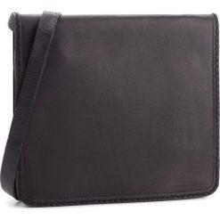 Torebka CLARKS - Teddington Way 261347300  Black Leather. Czarne listonoszki damskie Clarks, ze skóry. Za 429,00 zł.