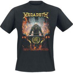 T-shirty męskie: Megadeth New World Order T-Shirt czarny